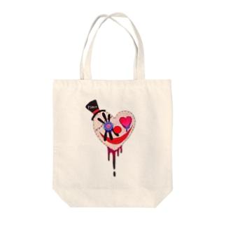 心ピエロちゃん Tote bags