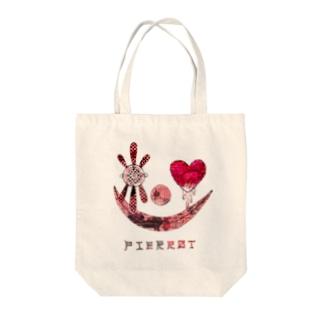 PIERROT Tote bags