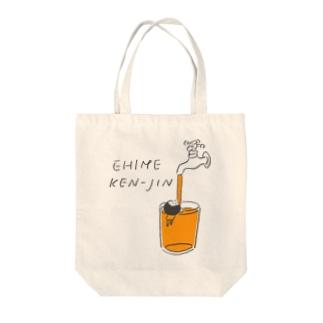 愛媛県人 Tote bags
