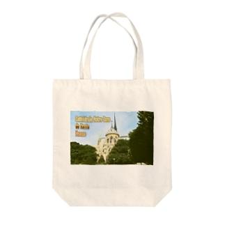 フランス:パリのノートルダム大聖堂 France: Notre-Dame de Paris ( before the fire 2019 ) Tote bags