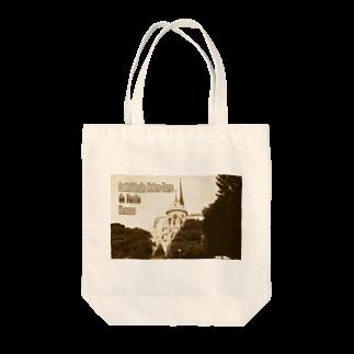 FUCHSGOLDのフランス:パリのノートルダム大聖堂 France: Notre-Dame de Paris ( before the fire 2019 ) Tote bags