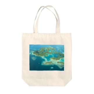 パラオ セブンティーンアイランド Tote bags