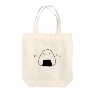 おにぎしわっしょい君 Tote bags