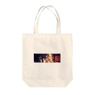 暗闇のコラージュ Tote bags