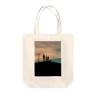 あの日の黄昏 Tote bags