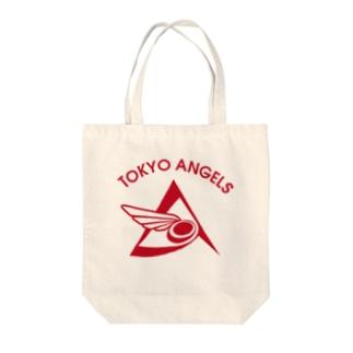 エンジェルス 白グッズ Tote bags