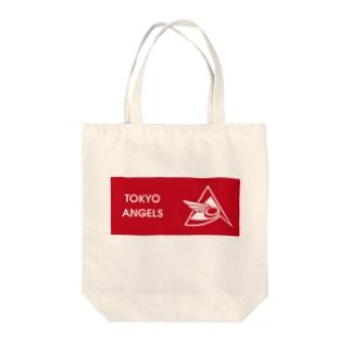 エンジェルス 横ロゴ Tote bags