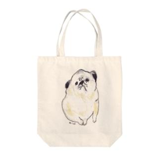 パグ Tote bags