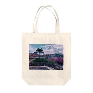 ディズニーシー マーメイドラグーン Tote bags