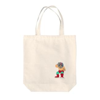 Barber ルチャ・リブレ Tote bags