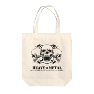 HEAVY METAL Tote bags