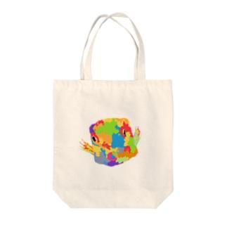 ハコフグ Tote bags