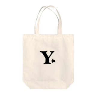 イニシャルY Tote bags