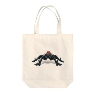 Octa-bot Tote bags