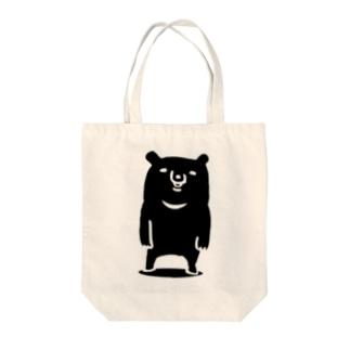ツキノワグマ Tote bags