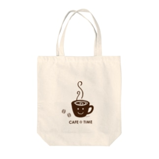 CAFE TIME Tote bags