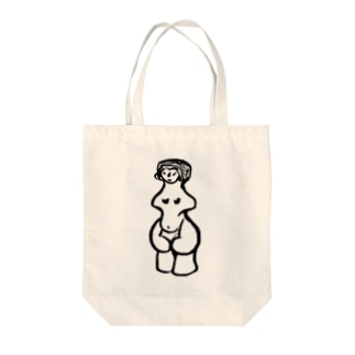 縄文のビーナスさん Tote bags