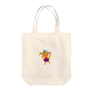可愛い女の子 ビザコちゃんグッズ Tote bags