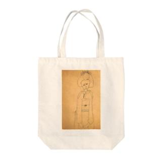 昭和のらくがき・舞妓さん Tote bags