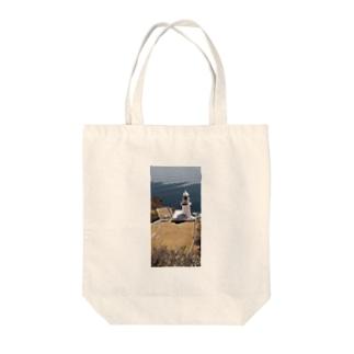 地球岬(北海道室蘭市) Tote bags