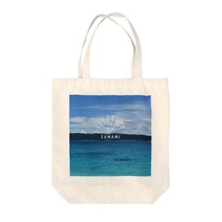 沖縄座間味の海が好き3 Tote bags