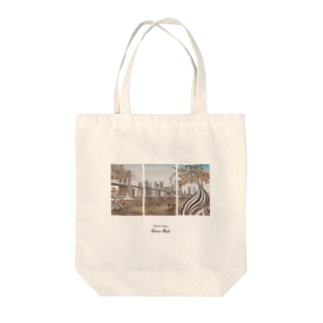 Brooklyn coffee time Tote bags