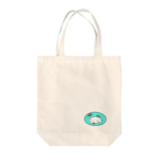 まめだいふくともなか(虹) Tote bags