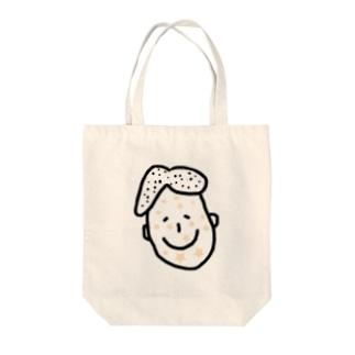 星ジンマシン Tote bags