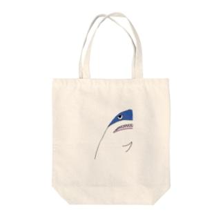 家政婦のサメ Tote bags