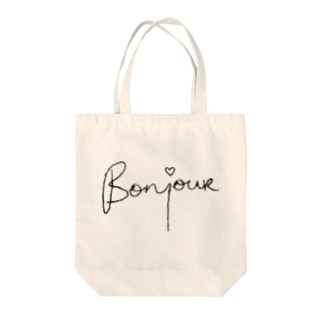 Bonjour♡ Tote bags