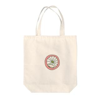 タビーランドの元気なハムスター ピンク Tote bags