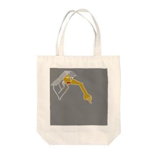 ホオヅエ Tote bags