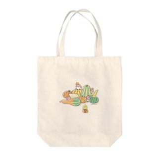 かぼちゃと ことり Tote bags