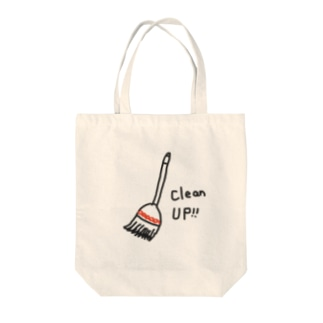 Clean up  Tote bags