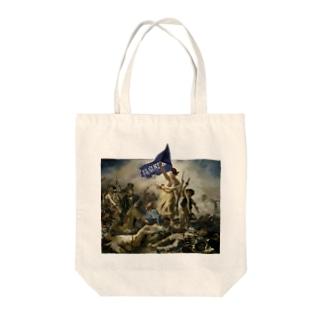 駿東郡長泉町民を導く自由の女神 Tote bags