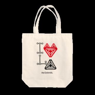 type28のI Love LinkAmp Tote bags