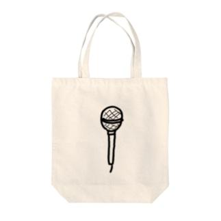 マイク Tote bags