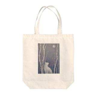 木立の中で Tote bags