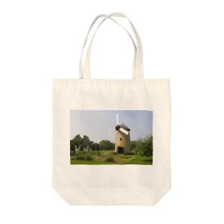 風景 Tote bags