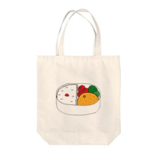 おみかんinお弁当箱 Tote bags