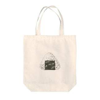 オニギリ Tote bags