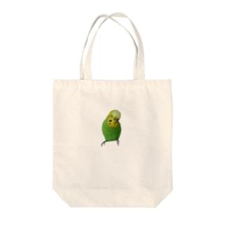 インコのチェリー Tote bags