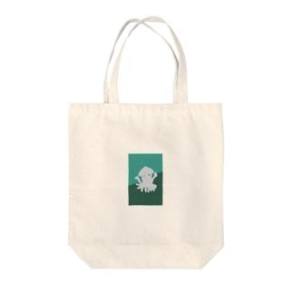 イカハッピー Tote bags