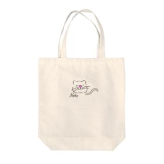 猫好きさん Tote bags