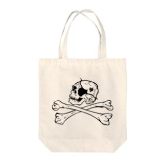 自由な海賊 Tote bags