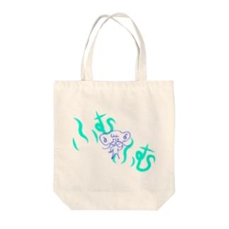 ぱっちん(ふむふむ) Tote bags