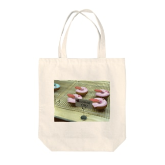 pink donuts❤︎ Tote bags