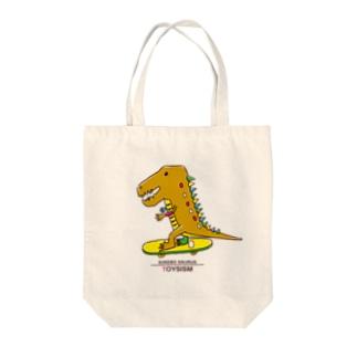 スケボーザウルス Tote bags