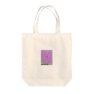 Neon Heart❤︎ Tote bags