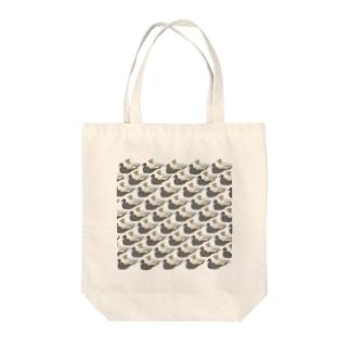 アヒル Tote bags
